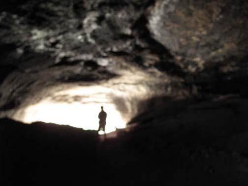 Grotte au Nouveau-Mexique