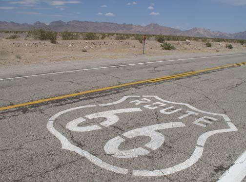 En prime, un bout de la mythique route 66