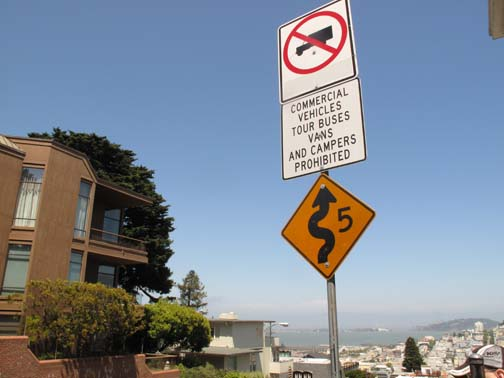 Notre genre de route dans notre genre de ville : San Francisco !